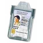 Secure Badgeholder® Classic™ For One Card - Clear