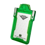Secure Badgeholder® Classic™ For One Card - Green