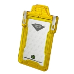 Secure Badgeholder® Classic™ For One Card - Yellow