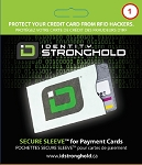 Secure Sleeve for Credit Cards (Single)